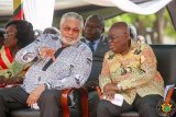 Akufo-Addo suspends campaign, declares national mourning over Rawlings' death