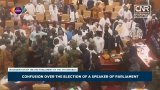 Brawl in Ghana's parliament taint election of speaker