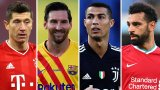 Lewandowski, Messi, Ronaldo & Salah all included as FIFA The Best nominees (...)